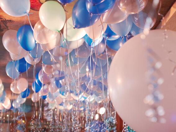 ceiling balloons Jacksonville