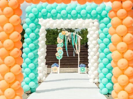 balloon arches Jacksonville fl