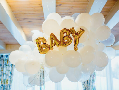 balloons for baby shower Jacksonville